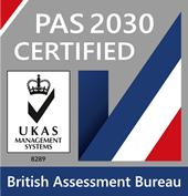 PAS2030_Certification Badge_UKAS (2)